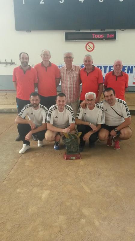 24 09 2017 ales champions en blanc ss champions gourdon en rouge