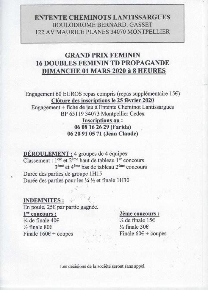 Affiches doubles feminin td 8 heures2020