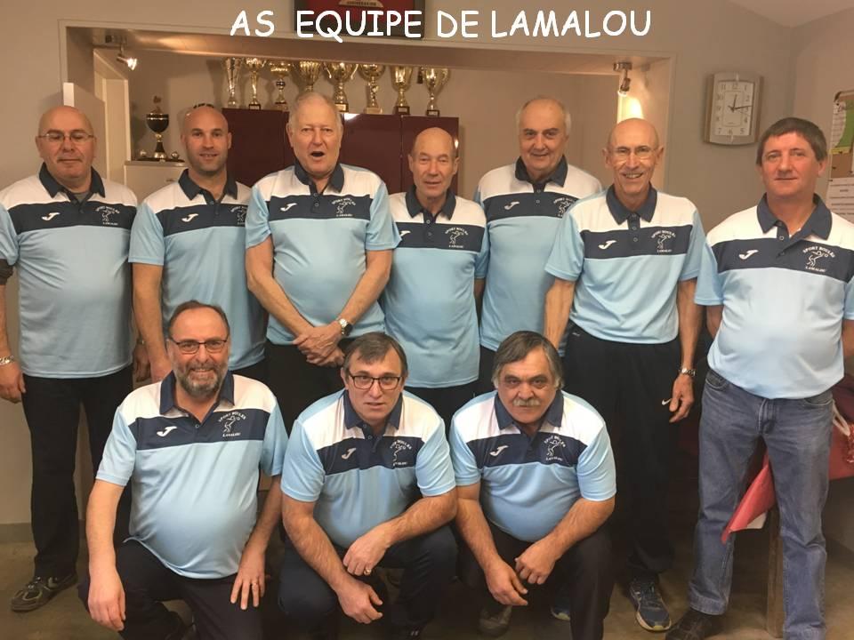 As equipe de lamalou