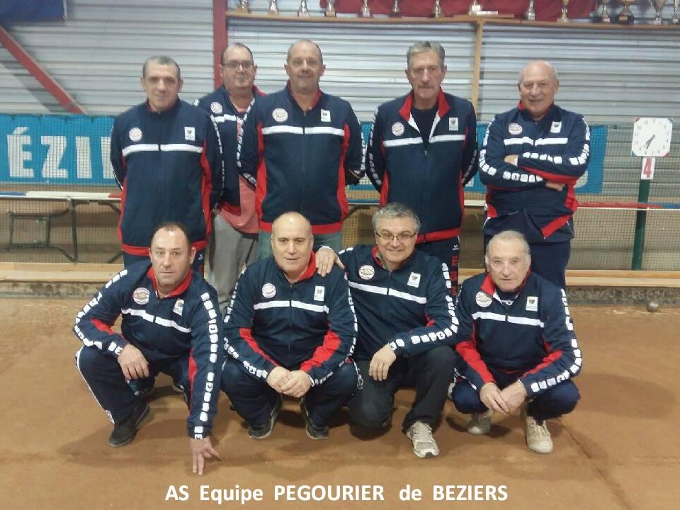 As equipe pegourier de beziers