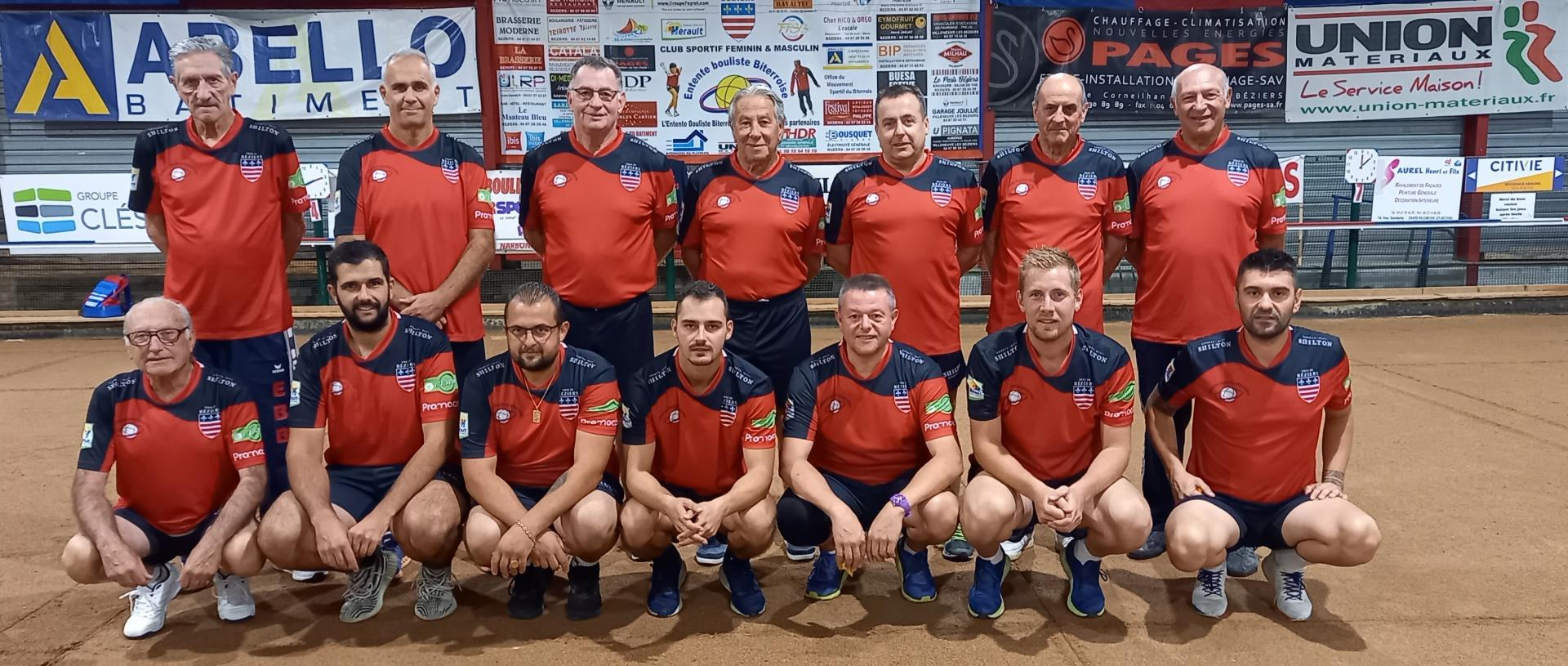 Beziers equipe nationale 1ere division