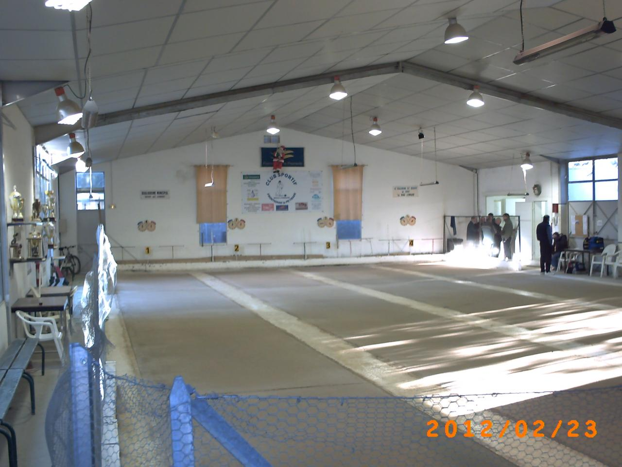 Boulodromes couverts for Boulodrome montpellier