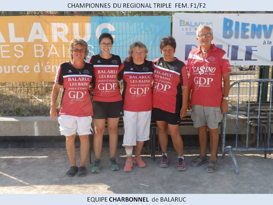 Chpionnes reg triple f1 f2