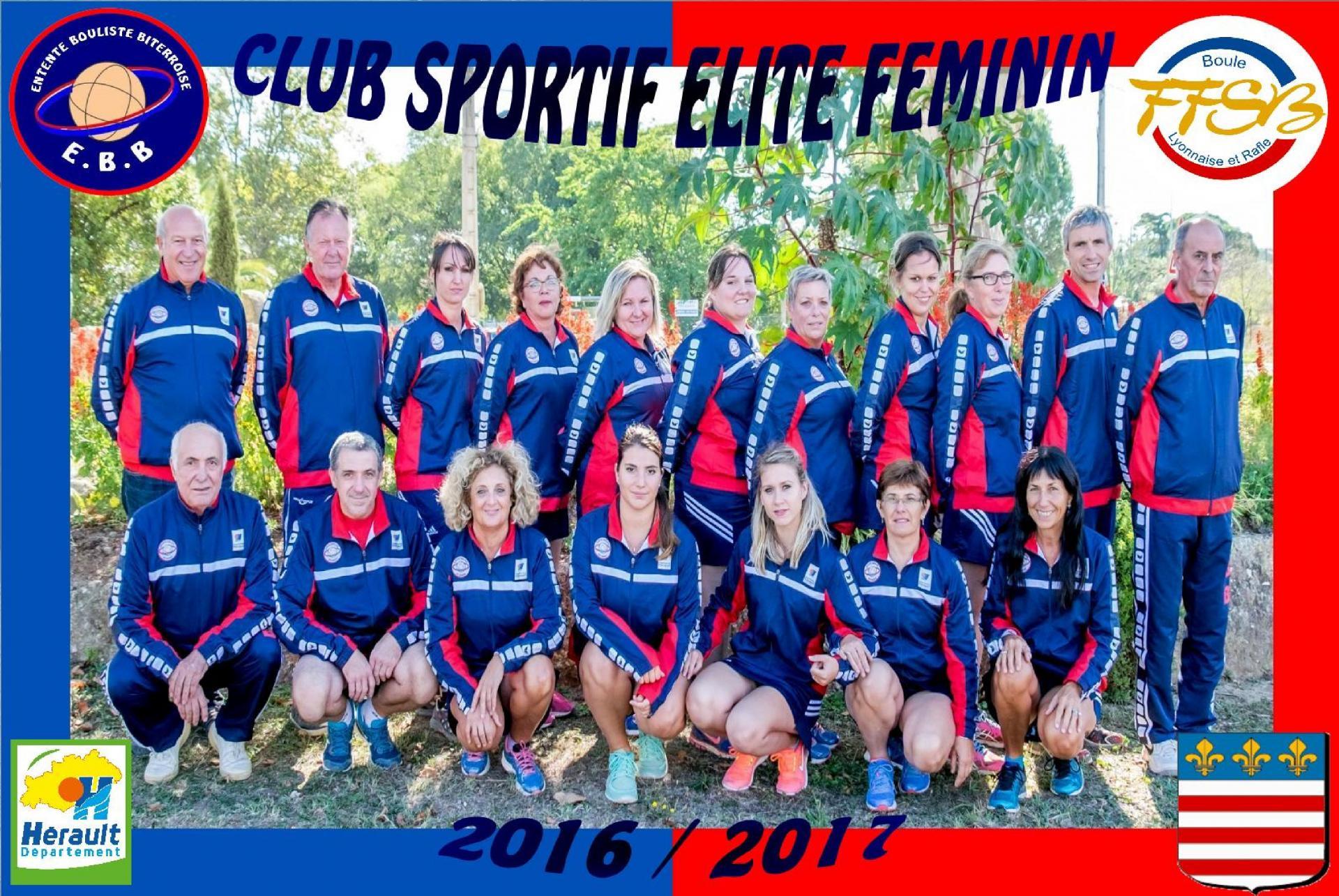 Eb bezier club sportif feminin elite 2