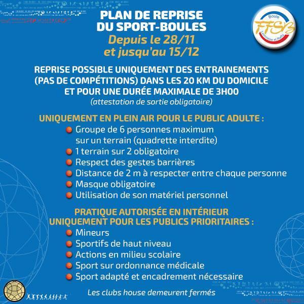 Ffsb protocole reprise 28 11